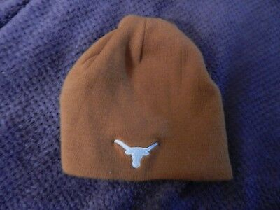 Texas Longhorns Beanie - TEXAS LONGHORNS KNIT BEANIE SKULL Childrens Stocking CAP