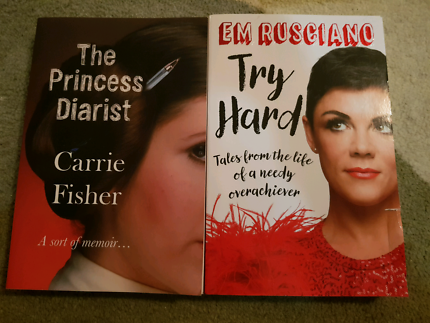 Em Rusciano and Carrie Fisher memoirs