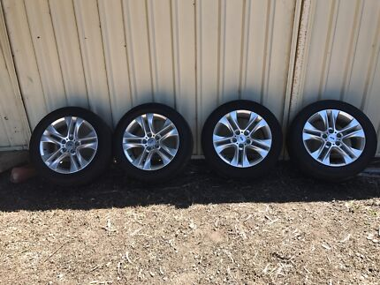 "FORD FALCON FG XR6 17"" WHEELS X4"