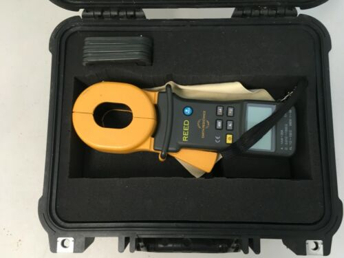 REED Instruments MS2301 Clamp-on Ground Resistance Tester w/ Pelican 1400 Case