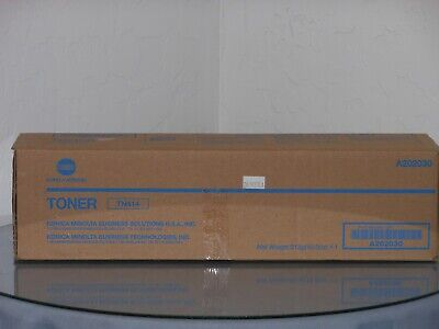 Genuine Konica Bizhub 363 423 Tn414 Black Toner New In Box A202030