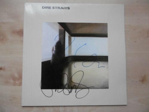"""Dire Straits Autogramme signed LP-Cover """"Dire Straits"""" Vinyl"""