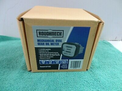 New Roughneck Mechanical Oval Gear Oil Meter 67150 - 1000psi - 1-32qpm