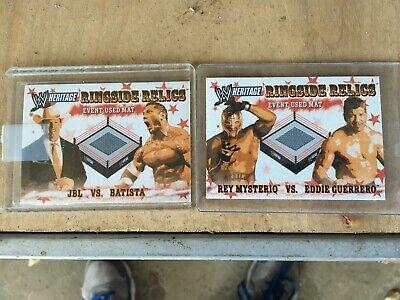 2005 Topps WWE Ringside Relics Cards (Wwe Ringside Relics)