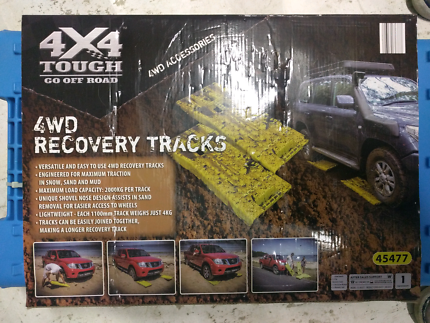 4WD recovery tracks, new