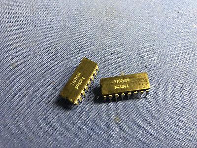 F2102hdm Nsc Ram 2102hdm 16-pin Cerdip Vintage 198082 Rare Last Ones