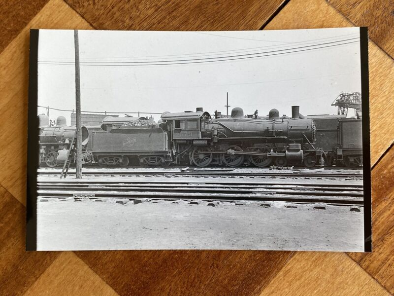Chicago North Western Railroad Locomotive 873 Vintage Photo C&NW