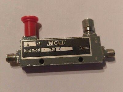 Mcli Cb8-6 2-18 Ghz Sma Rf Directional Coupler