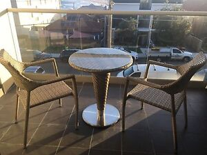 Osmen 3 piece balcony setting was $499 Maroubra Eastern Suburbs Preview