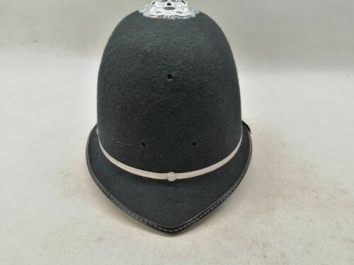 Rosetop Custodian Bobby Helmet Black Chrome Collector Uniform Patrol Duty Film