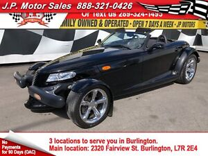2000 Plymouth Prowler Automatic, Leather, Convertible, 22,000km