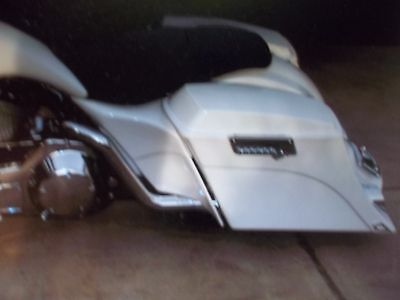 """Harley-Davidson-stretched-extended-side-covers 5"""" bagger touring FLH 97 - 08"""