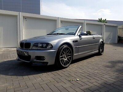 BMW e46 M3 SMG II CSL Grau Facelift 2004 Modell 343PS Cabrio Voll Scheckheft  m gebraucht kaufen  Versand nach Austria