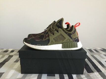US8.5 Adidas NMD XR1 in Olive Green Cargo Duck Camo - NMD_XR1