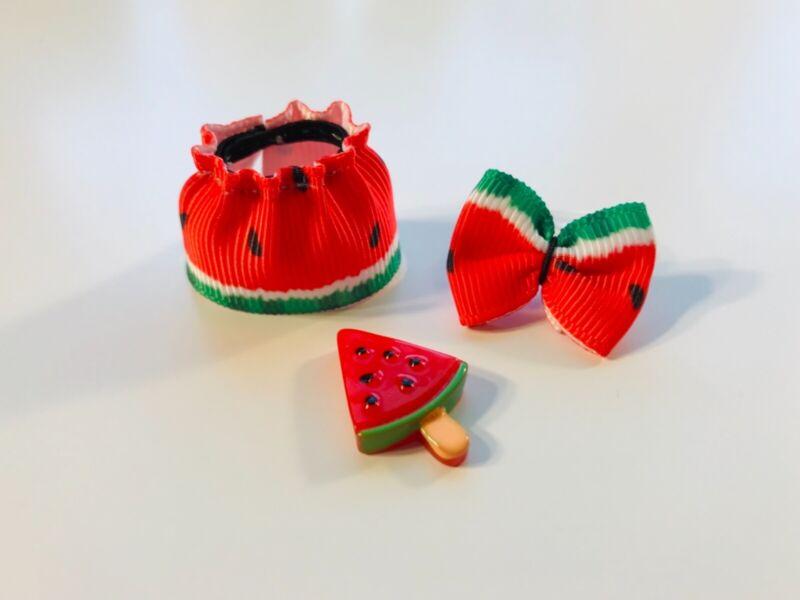 4 PC Custom LOL Surprise Dolls Accessories Watermelon Clothes Food Ice Cream