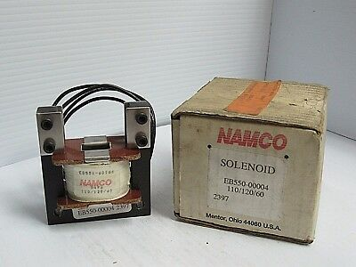 Namco Pulling Solenoid Eb550-00004 110120v New