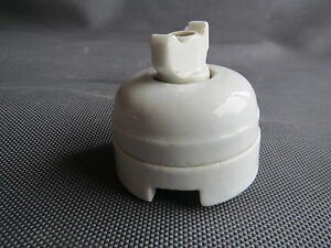 ancien interrupteur porcelaine pour restauration french antique ebay. Black Bedroom Furniture Sets. Home Design Ideas