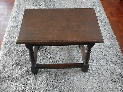 Vintage Occasional Dark wood table