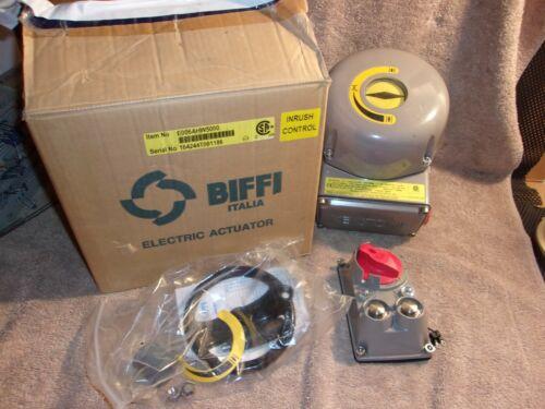 NEW SURPLUS BIFFI ITALIA KEYSTONE ELECTRIC ACTUATOR E006AHW5000