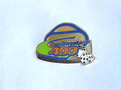 Vintage 2000 CarsDirect.com 400 NASCAR Race Las Vegas Souvenir Pin