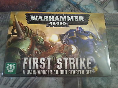 WARHAMMER 40K FIRST STRIKE COMPLETE CORE STARTER SET - NEW IN STOCK