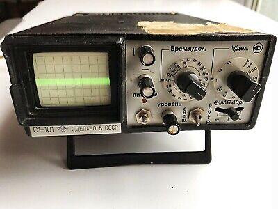 S1-101 1-101 Portable Oscilloscope Soviet Vintage Ussr Rare