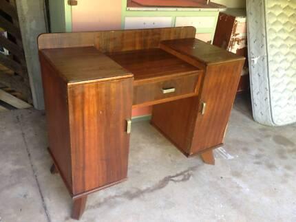 Vintage Dresser Table Cabinet