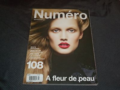 2009 NOVEMBER NUMERO MAGAZINE - TONI GARRN FRONT COVER FASHION - O 7083