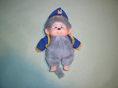 Monchhichi  Sekiguchi Zauberer sehr selten ca. 20 cm