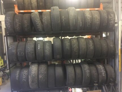 TYRES SECONDHAND AN NEW