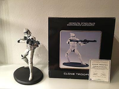 Star Wars Attakus Clone Tropper 1:5 (Groß), mit OVP und COA