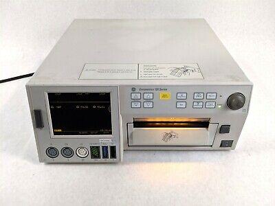 Ge Corometrics 120 Series 0128 Maternal Fetal Vital Sign Newborn Baby Monitor