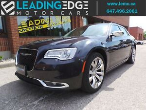 2016 Chrysler 300C Navigation, Heated and Cooled Seats