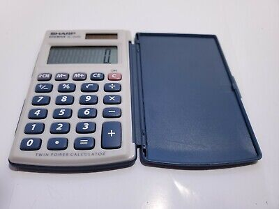 Sharp Elsi Mate EL-243S Twin Power Calculator