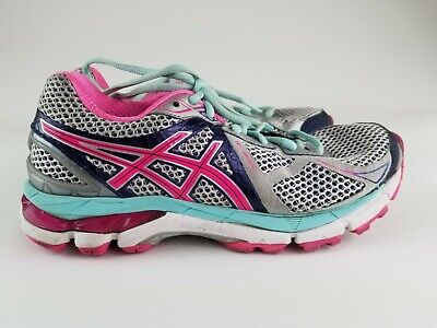 Womens ASICS AASICS Fluidride GT-2000 Running Shoes Size 6.5 Pink, Purple