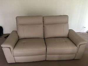 Nick Scali reclining 2 seater sofa Artarmon Willoughby Area Preview