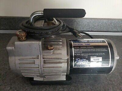 Yellow Jacket - 93440 4 Cfm 2 Stage Vacuum Pump Hvac Refrigeration Tools