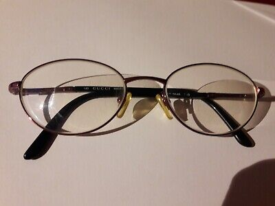 GUCCI Glasses Spectacles Vintage ...640 7XG / 51 (Box) 19 Champagne Brown