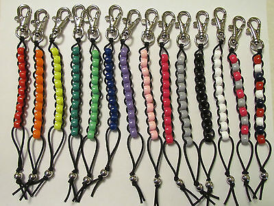 (Beaded Golf Stroke Counter - Pick your color )
