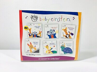 Baby Einstein: Music CD 6-Pack Mozart, Bach, Beethoven,Galileo