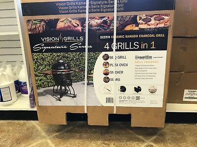 Used, vision grill kamado signature-series grill for sale  Weatherford