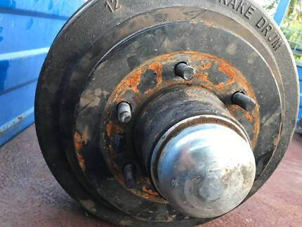 trailer electric brakes, rims and tyres
