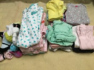 Lot of 3 month various baby girl clothes