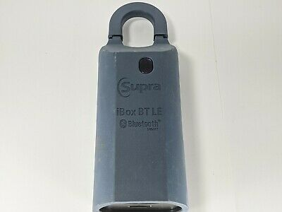 Supra Box Ibox Bt Le Bluetooth Lockbox Model 002142 Lockbox No Code