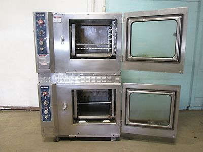 Alto-shaam 7.14mlgs Commercial Hd Natural Gas Double Stacked Combitherm Ovens