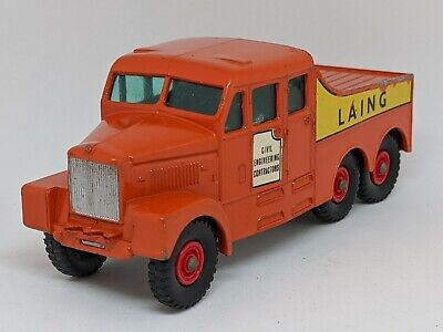 Matchbox Lesney -  #K8 Scammell 6x6 Tractor with Laing Civil Engineering Decals