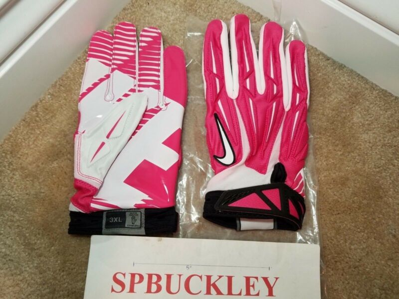 newest collection 4ec85 ae01c ... NIKE SUPERBAD 2.0 ADULT HIGH-IMPACT PADDED SKILL POSITION FOOTBALL  GLOVES, NEW ...