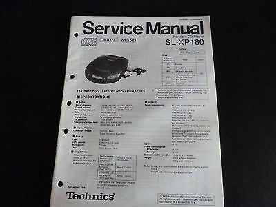 Technics Original Service Manual Für Sl Ch 7 Tv, Video & Audio
