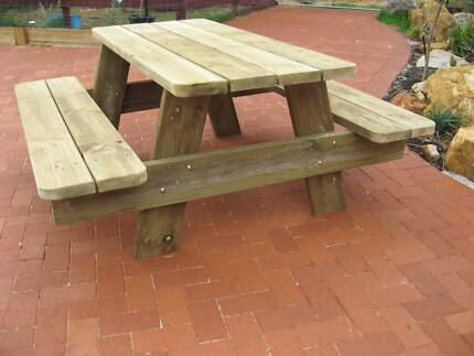 RUSTIC TREATED PINE OUTDOOR TABLE Gidgegannup Swan Area Preview