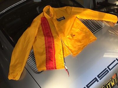 Vintage Retro Shell Gas colors Bosch Germany Cafe racer Mens jacket M